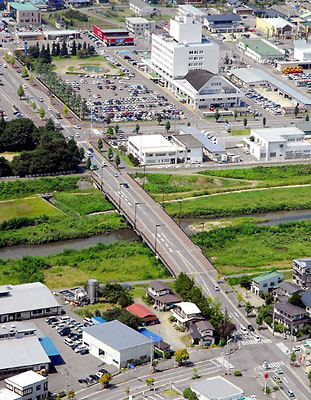 やまがた橋物語◆花沢大橋(米沢)